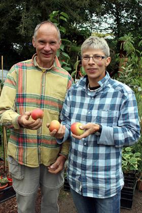 Foto Georg Leinweber und Sabine Führes-Leinweber